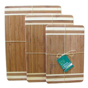 Green Bamboo cutting board 35cm