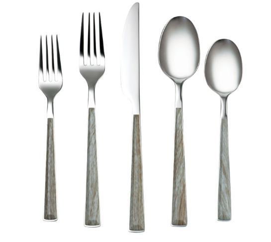 Sequoia Driftwood Flatware Set 20pc
