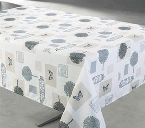 Jardin Beige Tablecloth 58X78