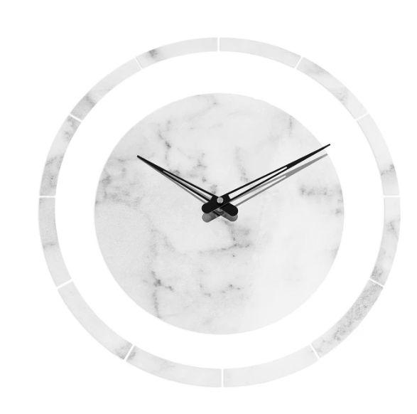 MetaLucite Clock- Circle