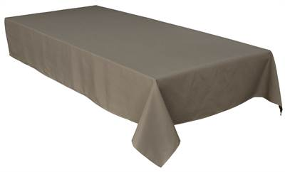 Solid Gris Tablecloth 60X90