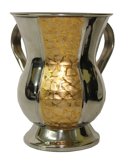 Wash Cup Stainless Gold finish - 6.5