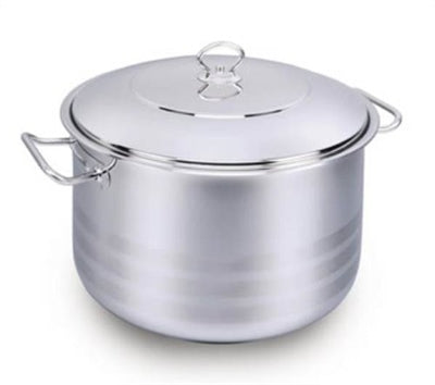 Korkmaz Stockpots with lid 28x17 10qt.