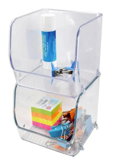 Home Essential Clarity Stackable Organizer (Small)