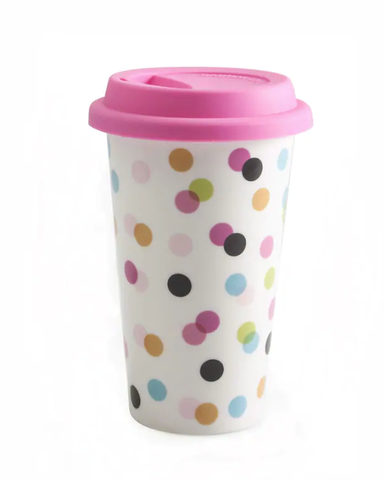 GOOD TO GO Travel Mugs by BIA, Dots