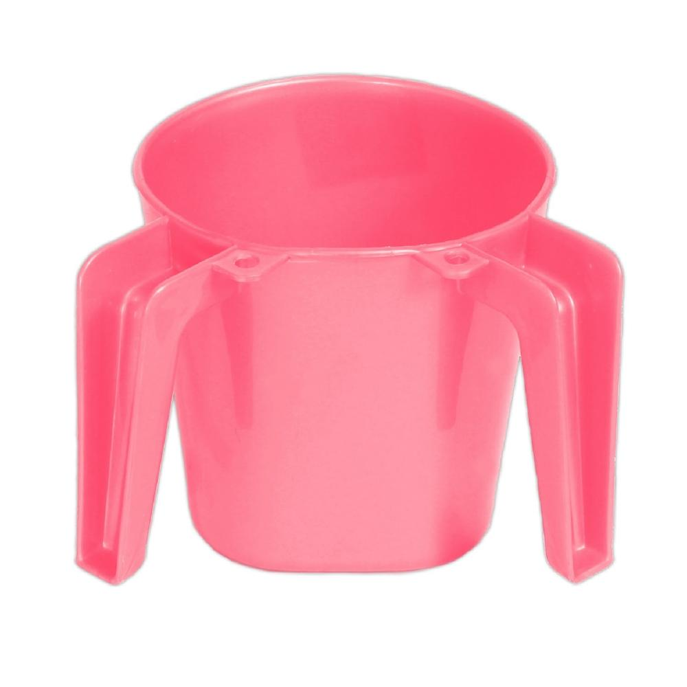 Plastic Sqaure Small Pink