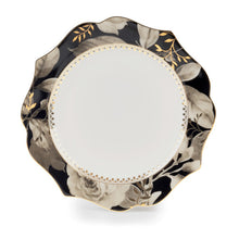 Load image into Gallery viewer, Black Rose B&B Plates