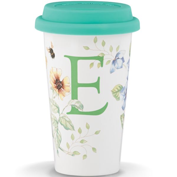 Lenox Butterfly Meadow Thermal Travel Mug, E