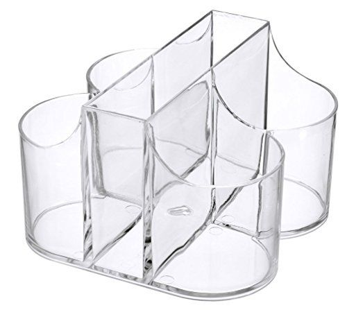 Lillian Tablesettings Cutlery Caddy Organizer 5 Compartment Silverware & Napkin