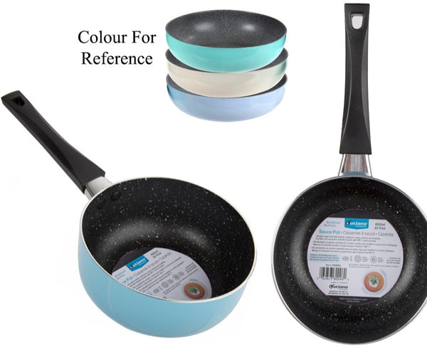 Luciano 600ml /20oz Non-stick Alum. Sauce Pot