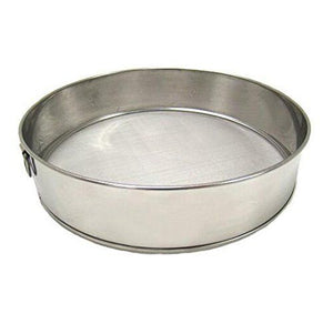 "7.5"" Stainless Steel Sifter Fine Mesh"