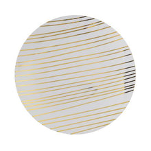 Load image into Gallery viewer, 8 In. Glam Design Plastic Plates - 10 Ct.