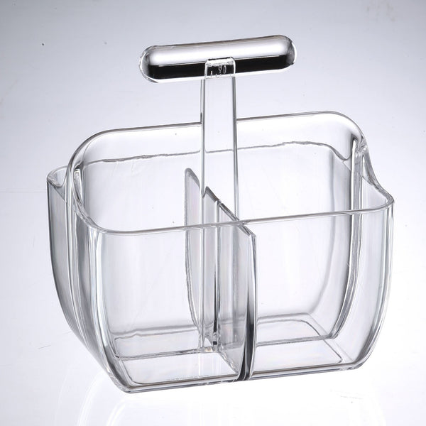 Rectangular utensil caddy