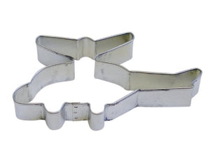 "R&M Helicopter 5"" Cookie Cutter in Durable, Economical, Tinplated Steel"
