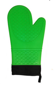 Cool Touch - Silicone Oven Mitt, 13 in, Green