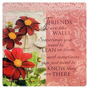 Kitchen Towels - Friends are like walls