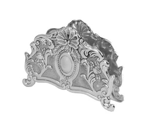 Napkin Holder Silver Plated 3.5 ""