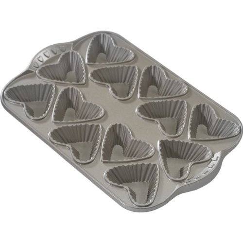 Platinum Series French Heartlette Pan 3/4-c.