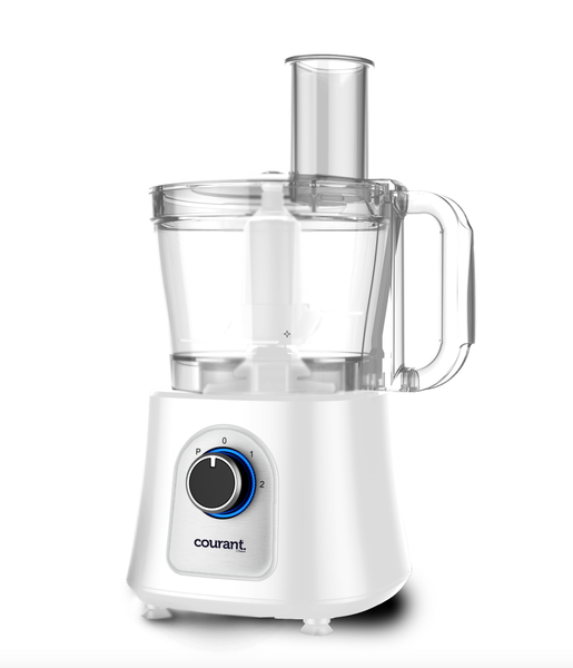 Courant 12 Cup Food Processor - White