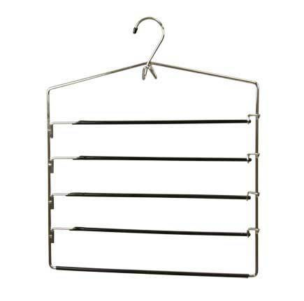 Home Basics Chrome Plated Steel Trouser Hanger