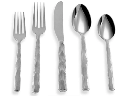 CAMBRIDGE SILVERSMITHS KENILWORTH MIRROR 20PC FLATWARE SET