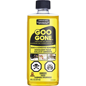 Goo Gone 8 Oz. - Removes Stickers - Grease - Gum - Tar - Crayon & Tape