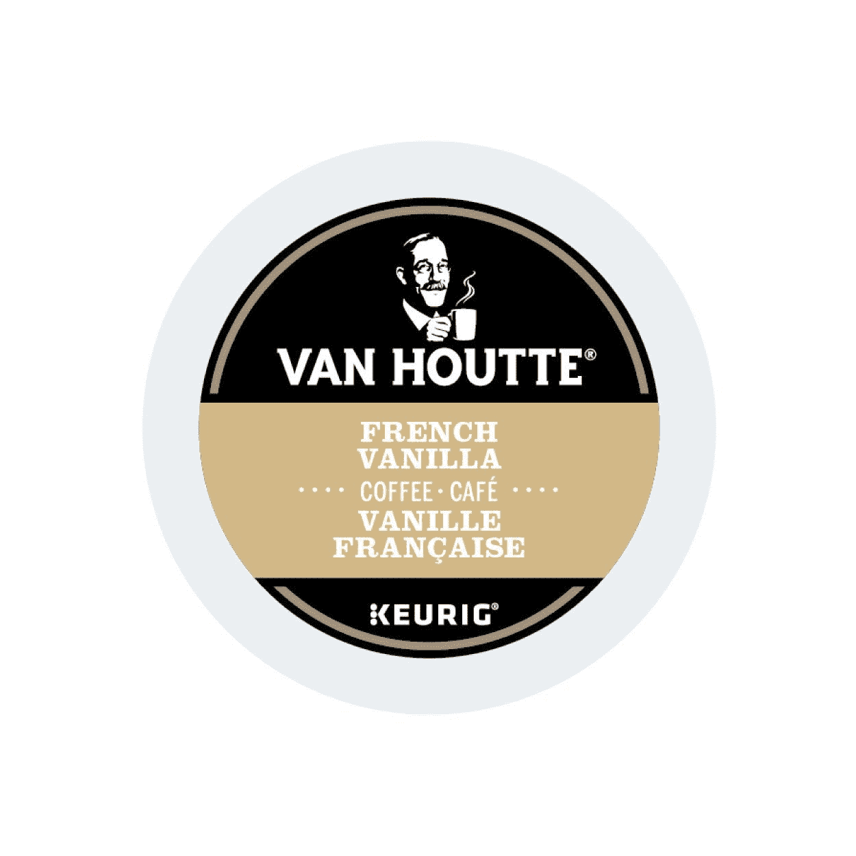Van Houtte French Vanilla Coffee K-Cup Pods