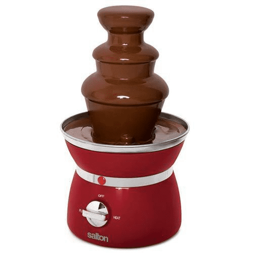 Salton  Chocolate Fountain Red