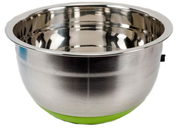 Stainless Steel Non-Slip Mixing Bowl with Silicone Bottom 8.5