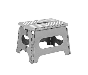 9 inch Foldable Step Stool with Stripes