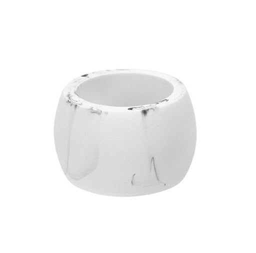 Harman Carrara Polyresen Napkin Ring (White)