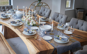 Table stylist from Dublin, launches an online tableware store creating tablescapes and selling those looks online in time for Christmas.