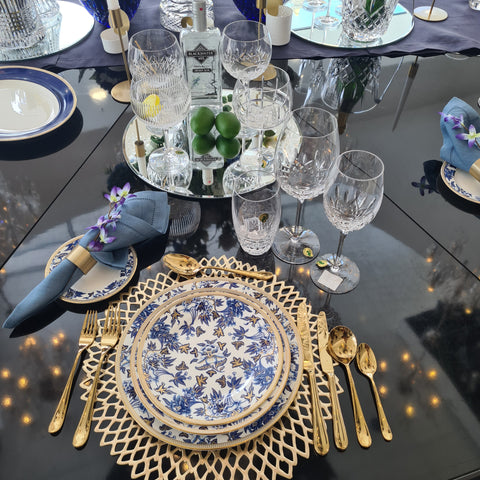 Hostaro Tableware Table Setting at Waterford Crystal