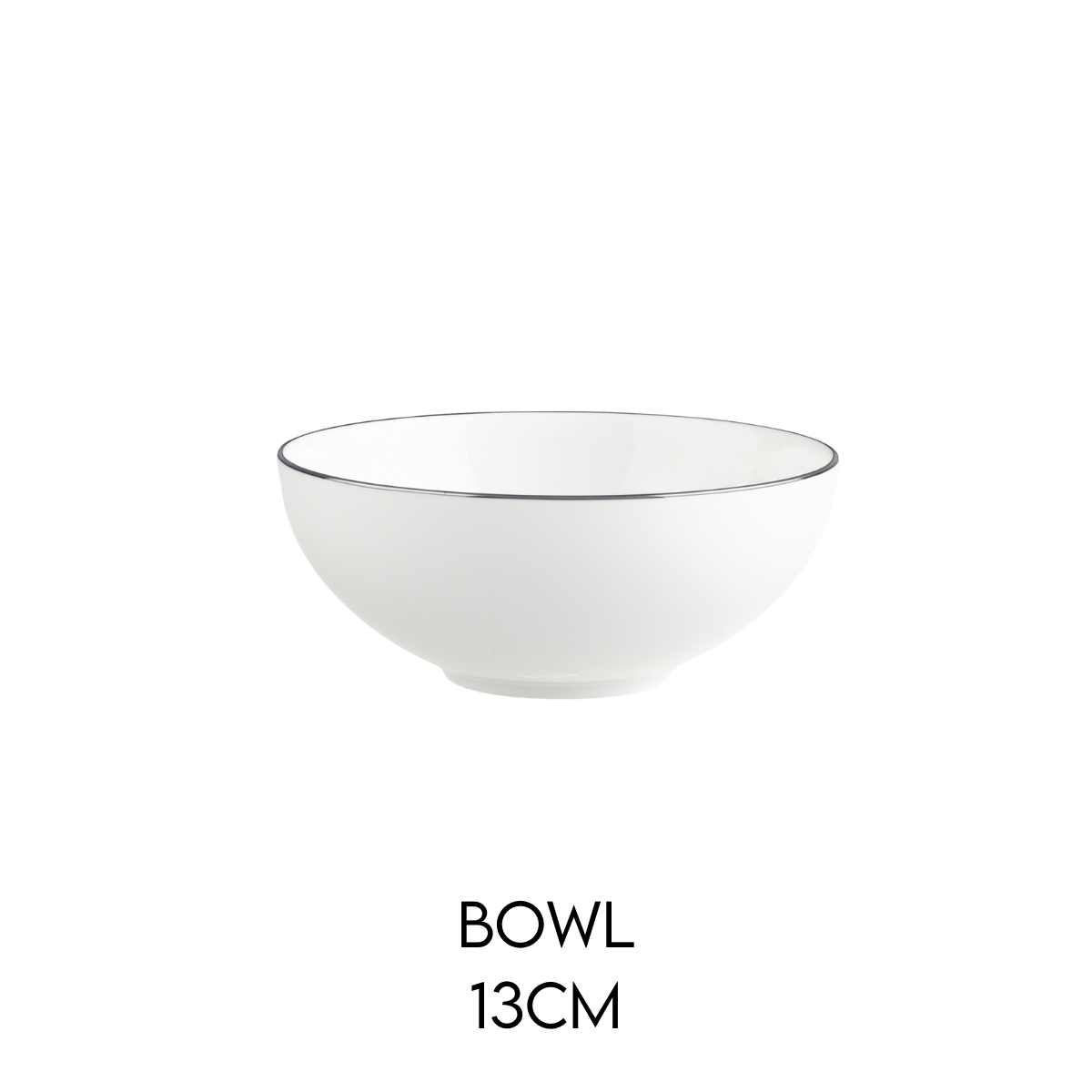 Hostaro Tableware Anmut Platinum Bowl