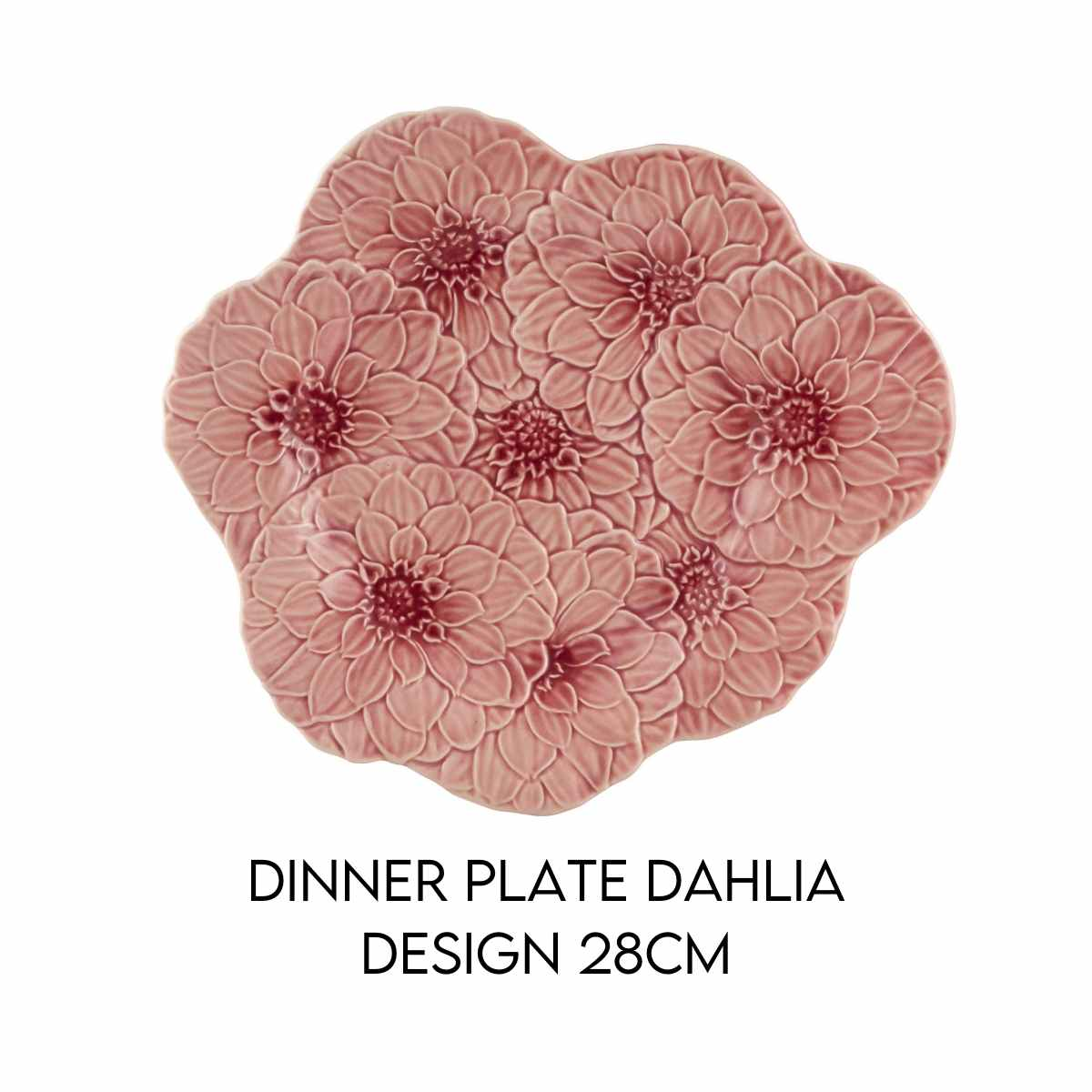Hostaro Tableware Maria Flor dahlia dinner plate