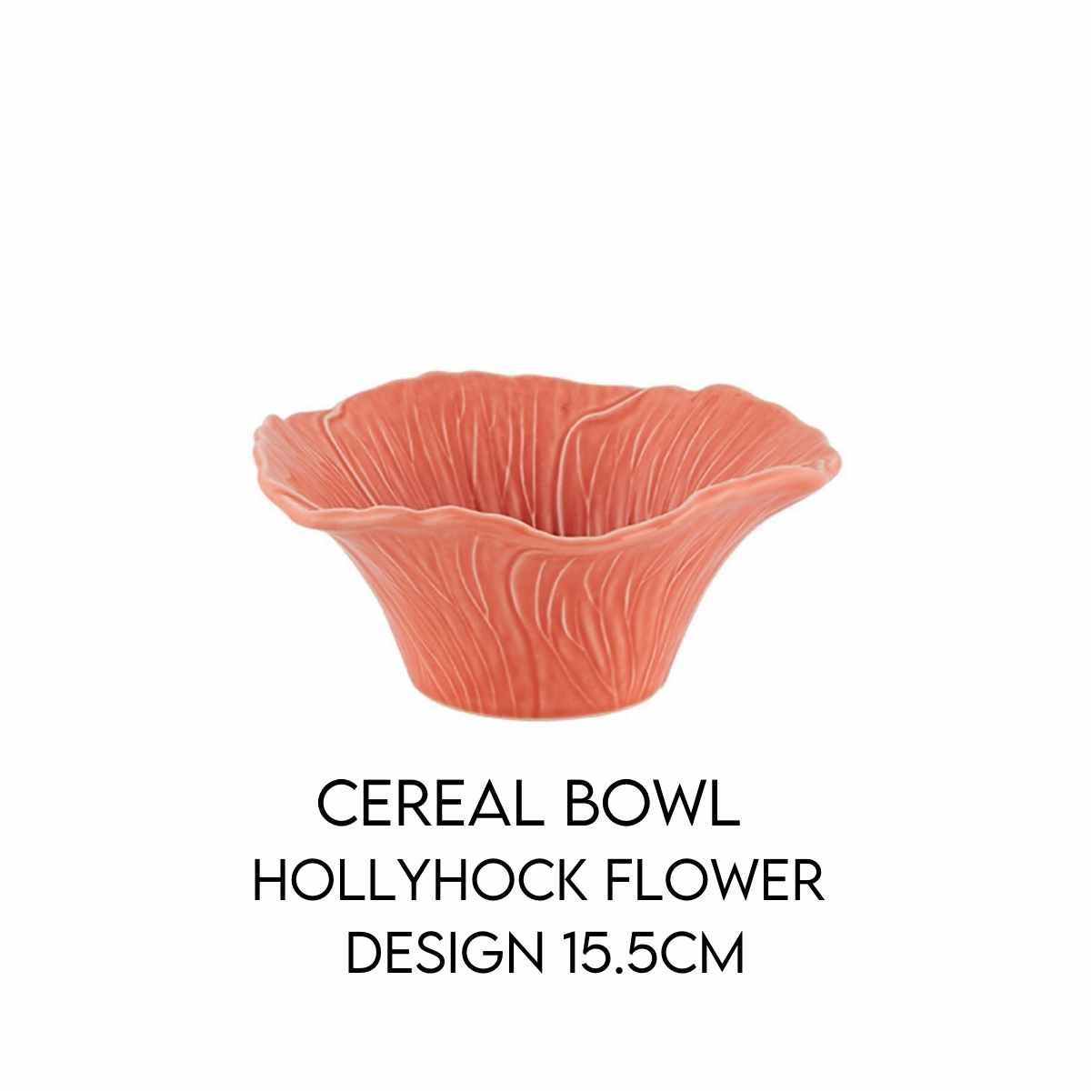 Hostaro Tableware Maria Flor cereal bowl hollyhock