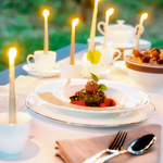 Load image into Gallery viewer, Hostaro Tableware Anmut Platinum tablescape