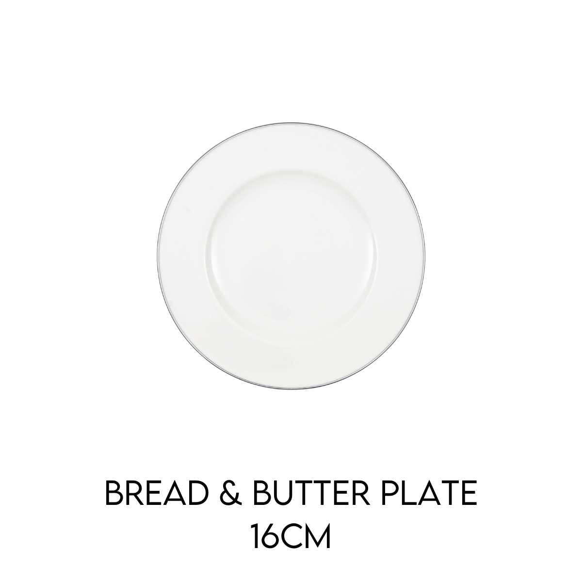 Hostaro Tableware Anmu Platinum Bread and Butter plate
