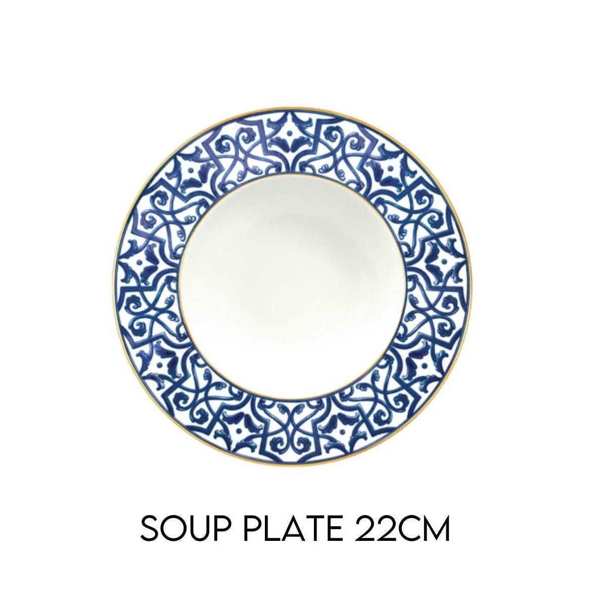 Blue Legacy Soup Plate Hostaro Tableware