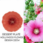 Load image into Gallery viewer, Hostaro Tableware Maria Flor Hollyhock dessert plate