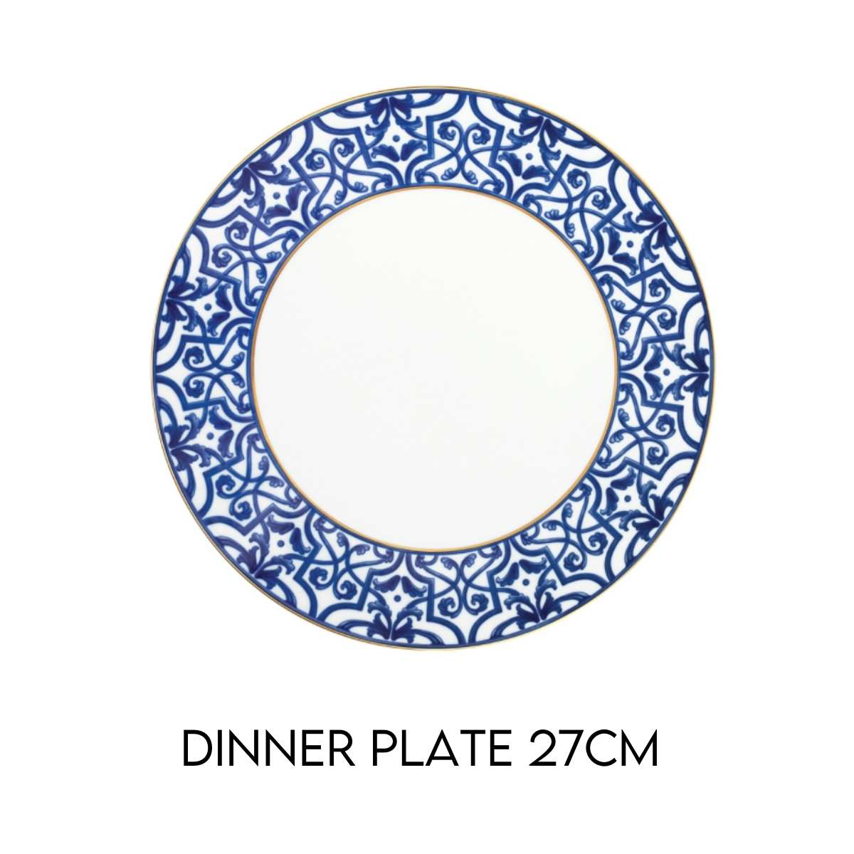 Blue Legacy Dinner Plate Hostaro Tableware