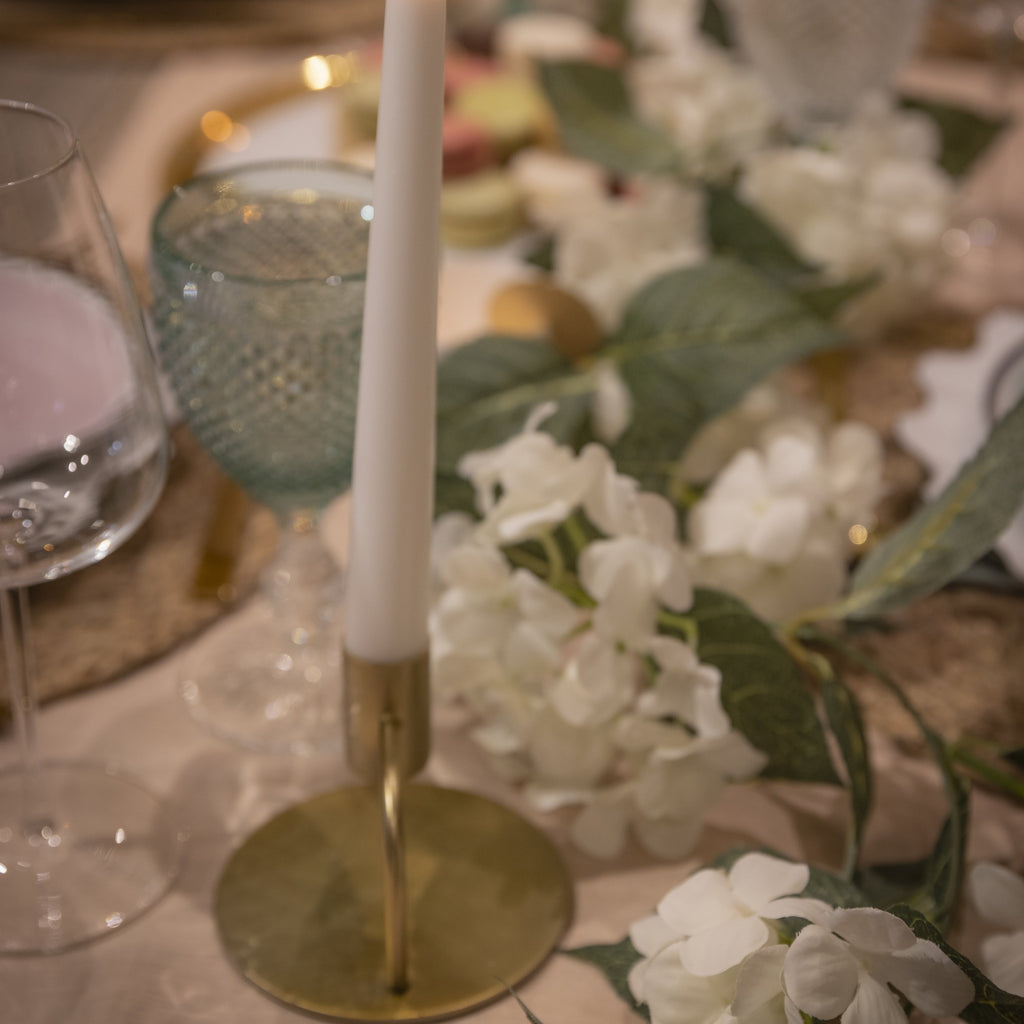 Gold candle holders Hostaro Tableware