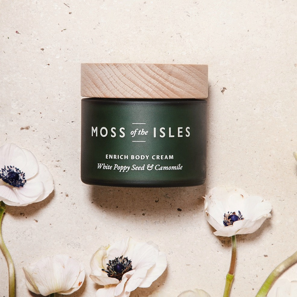 MOSS OF THE ISLES ENRICH BODY CREAM Hostaro Tableware