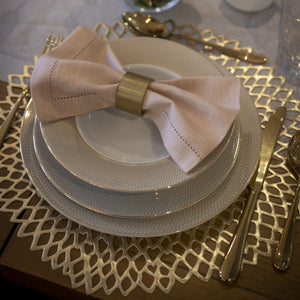 Gold Placemat Infinity Hostaro Tableware