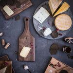 Load image into Gallery viewer, Small Walnut Cheese Paddle Board - Hostaro Tableware