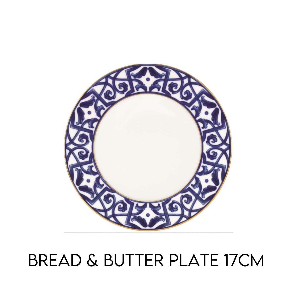 Blue Legacy bread and butter plate Hostaro Tableware