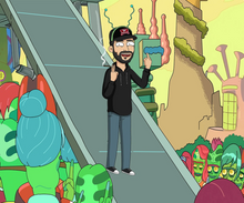 Load image into Gallery viewer, Get Cartooned Rick