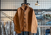 "TCB ""SEAMENS"" JUMPER CIVILIAN 11.2 OZ JACKET BROWN"