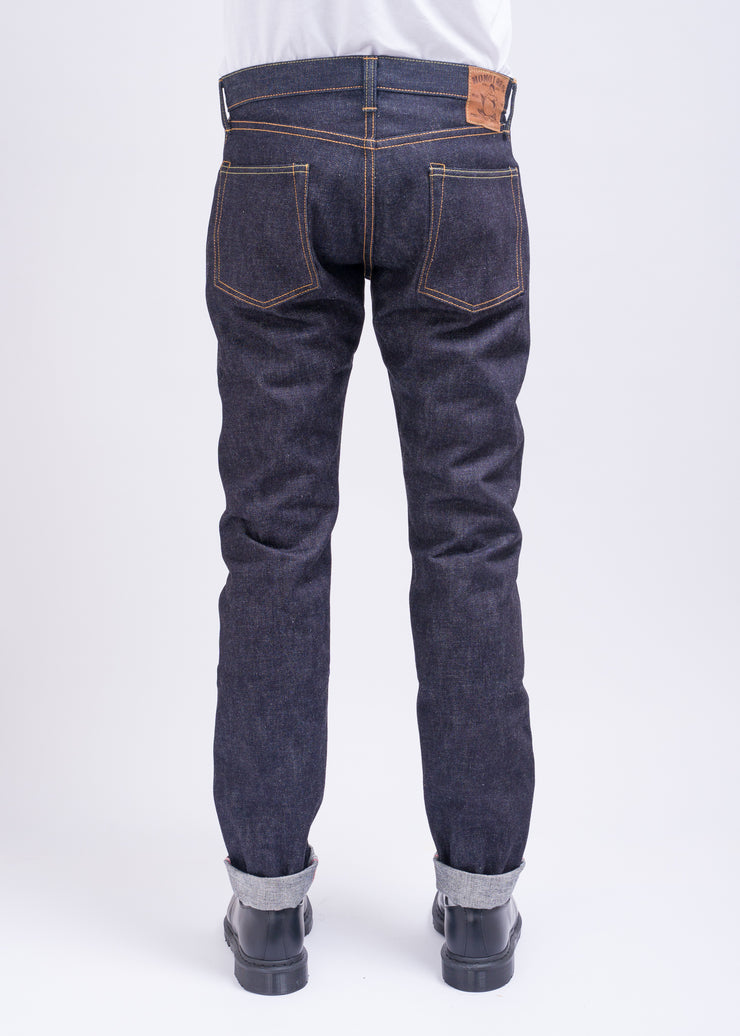 "MOMOTARO ""0306-18"" 18OZ SELVEDGE DENIM TIGHT TAPERED JEANS"