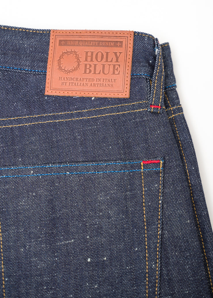 "HOLY BLUE ""YEAR ONE"" 12.5OZ NEP DENIM REGULAR TAPERED JEANS"